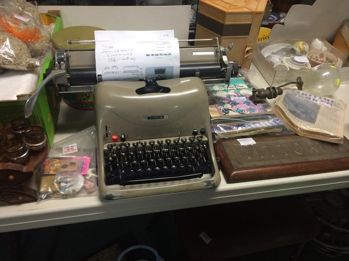 Olivetti Lexicon - $120. But someone has wrote an offer to the seller of $80 on it.