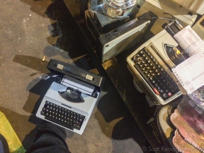 Look familiar? Typewriters!