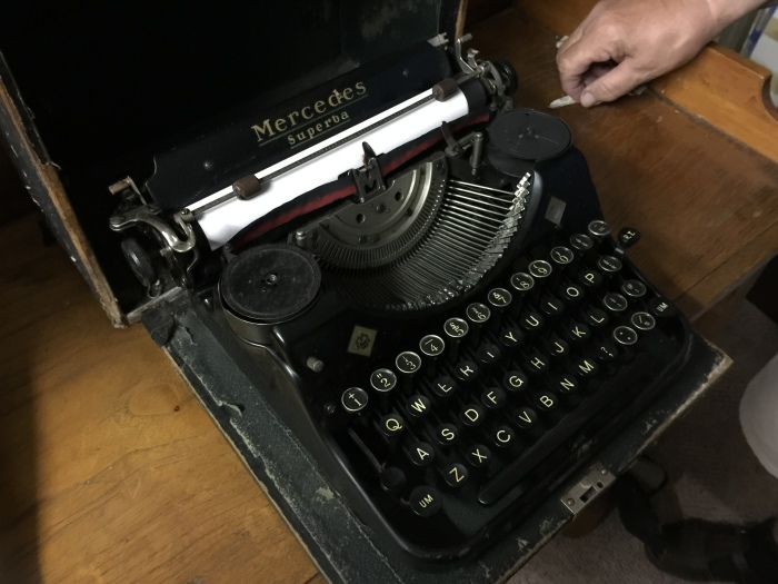 The Mercedes of typewriters? Maybe.